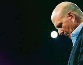 """Steve Ballmer nuối tiếc vì nhỡ """"chuyến tàu"""" di động"""