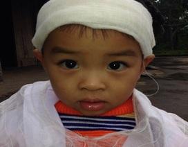 Thương cảnh bố tai nạn chết thảm, mẹ nguy kịch, con trai 1 tuổi rưỡi bơ vơ