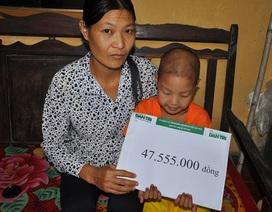 Hơn 47 triệu đồng đến với cô bé Đỗ Thị Mai