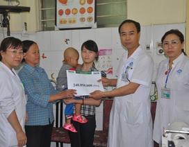 Hơn 240 triệu đến với bé Vy Nam Phong