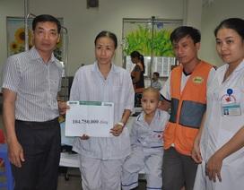 Hơn 104 triệu đến với hai mẹ con bé Ngọc bị ung thư