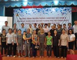 Khám phát hiện sớm ung thư miễn phí với 200 thương bệnh, binh ở Phú Thọ