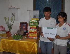 Hơn 65 triệu đến với gia đình bé Tuấn Anh bị bỏng khi đi câu cá
