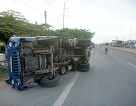 Xe ô tô tải lạng lách, một người tử vong