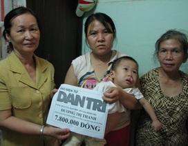 Gần 8 triệu đồng đến với cháu Dương Ngọc Thái