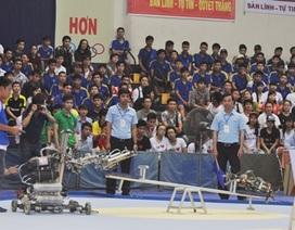 20 đội tham gia cuộc thi sáng tạo Robocon Việt Nam 2014