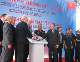 Khởi động hệ thống xử lý ô nhiễm dioxin tại sân bay Đà Nẵng