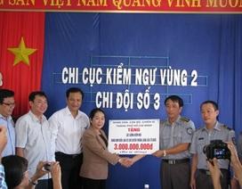 TPHCM tặng 3 tỷ đồng cho Chi đội kiểm ngư số 3