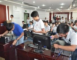 """Gần 200 học sinh, sinh viên tham gia """"Ngày hội sáng tạo Công nghệ thông tin"""""""