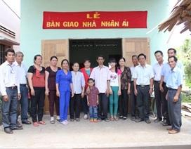 2 cha con ông Thái Văn Minh có nhà mới