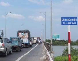 Đề xuất chi 4.700 tỷ đồng xây cầu Rạch Miễu 2