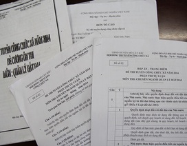 Người môi giới bất ngờ tố cáo việc mua bán đề thi công chức