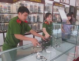 Thu giữ gần 1.500 cặp mắt kính không rõ nguồn gốc, xuất xứ