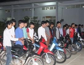 Chặn đứng nhóm thanh niên đua xe trái phép trên quốc lộ