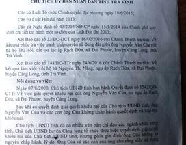 UBND tỉnh Trà Vinh chính thức thu hồi quyết định của chính mình!