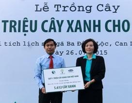 Vinamilk và Quỹ 1 triệu cây xanh tri ân các Anh hung Liệt sỹ tại Ngã Ba Đồng Lộc