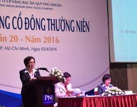PNJ tổ chức thành công Đại hội Cổ đông thường niên lần thứ 20 – năm 2016