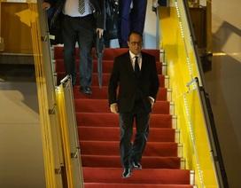 Tổng thống Pháp François Hollande đến TPHCM