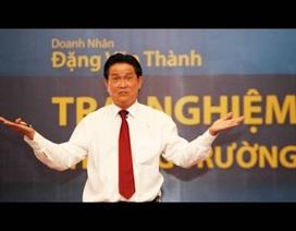 """Đại gia Đặng Văn Thành """"úp mở"""" chuyện trở lại ngành ngân hàng"""