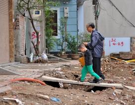 Hà Nội: Dân khốn khổ vì đường 1km làm 4 năm vẫn không xong