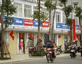 Biển hiệu đồng bộ ở phố Lê Trọng Tấn gây tranh cãi