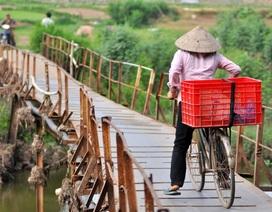 """Hà Nội sắp cải tạo cây cầu mục nát """"có một không hai"""""""
