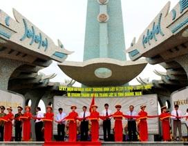 Quảng Nam khánh thành nghĩa trang liệt sĩ