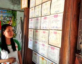 Ước mơ trở thành chiến sĩ công an của nữ sinh nghèo đạt 27 điểm khối C