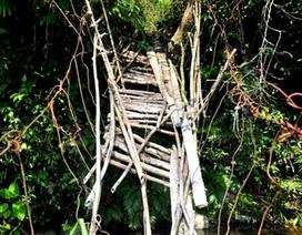 """""""Lạnh gáy"""" với những cây cầu treo"""