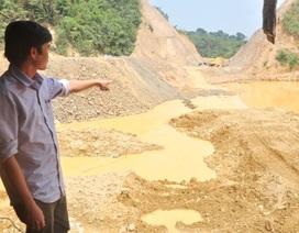 """Quảng Nam: Huyện có """"bật đèn xanh"""" cho doanh nghiệp khai thác vàng sa khoáng?"""