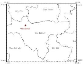Động đất 3,2 độ richter ở thủy điện Sông Tranh 2