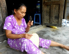 Quảng Nam: Đau đáu nghề đan rổ ở Triều Châu