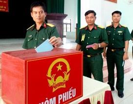 100% cử tri đi bầu trong ngày bầu cử sớm