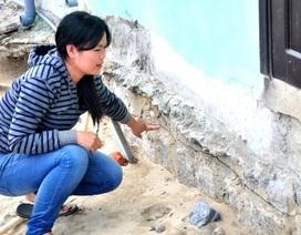 Vụ thi công làm nứt móng nhà: Chủ nhà đã nhận tiền hỗ trợ