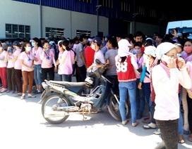 Vụ hơn 1.000 công nhân lãn công ở Quảng Nam: Công nhân đồng ý đi làm trở lại