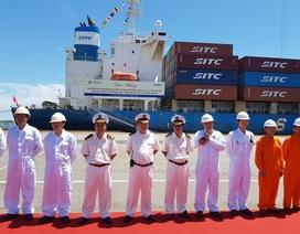 Khai trương tuyến hàng hải quốc tế Hàn Quốc đến Chu Lai