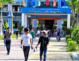 ĐH Quảng Nam công bố điểm chuẩn trúng tuyển