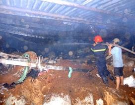 Xưởng dệt cháy lớn, thiệt hại hàng tỉ đồng