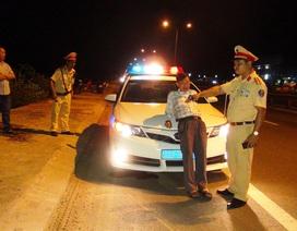 Phạt nặng tài xế say xỉn, lăng mạ và xúc phạm CSGT