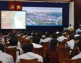 Thành lập Khu kinh tế Đông Nam tỉnh Quảng Trị