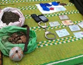 Triệt phá tụ điểm cung cấp ma túy ở khu vực biên giới