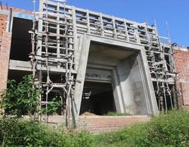 Công trình Nhà trưng bày địa đạo Vịnh Mốc bị ngưng trệ do thiếu vốn