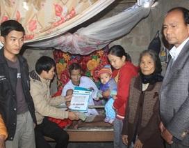Hơn 65 triệu đồng đến với gia đình anh Nguyễn Văn Thời