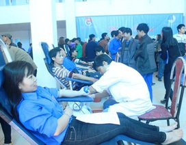 Tuổi trẻ Quảng Trị ra quân Tháng thanh niên và hiến máu tình nguyện