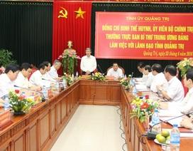 """Đồng chí Đinh Thế Huynh: """"Quảng Trị cần chú trọng đào tạo nguồn nhân lực chất lượng cao"""""""