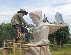 Quảng Trị: Những tượng đá ẩn chứa lòng tri ân liệt sĩ!
