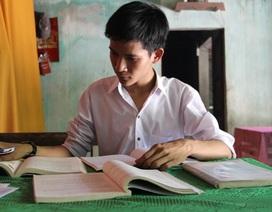 Nam sinh nhà nghèo đạt 27,85 điểm khối A ước mơ vào trường Quân sự