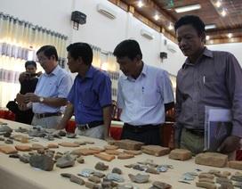 Phát hiện nhiều hiện vật từ cuộc khai quật khảo cổ dinh chúa Nguyễn