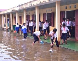 Quảng Trị: Trường học vùng thấp trũng trở lại dạy học sau thời gian bị ngập