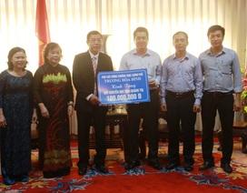 Phó Thủ tướng Trương Hòa Bình tặng Quỹ Khuyến học Quảng Trị 100 triệu đồng